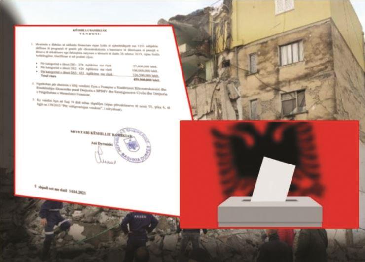 Zbardhet skandali: Ja skema, si shpërndau Edi Rama përpara zgjedhjeve 40 milionë euro për vota në 25 prill
