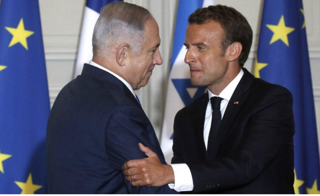 Makron bisedoi me Netanjahun: Ka të drejtë të mbrohet