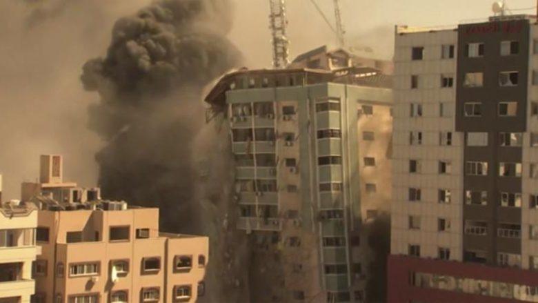 Izraeli arsyeton bombardimin e ndërtesës së mediave në Gaza
