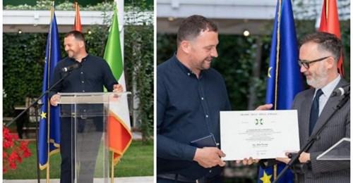 Altini i Mrizit, që iku 15 vjeç në mërgim dhe tani vlerësohet nga presidenti i Italisë