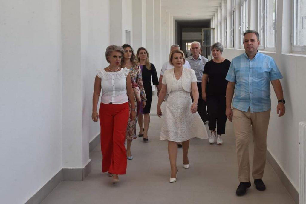 Teuta Arifi: 10 milion denarë për rikonstruimin e Gjimnazit të Tetovës!