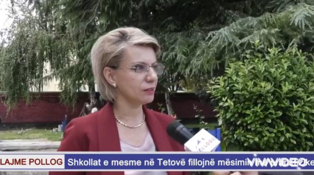 Fillojë viti i ri shkollorë në Tetovë-2021/2022
